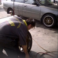 Photo taken at BT Tyre & Services by Ramzah R. on 3/7/2012