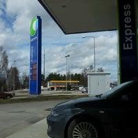 Photo taken at Neste Express Siltakatu by PLA ^. on 4/27/2012