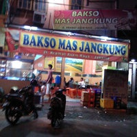 Photo taken at Bakso Jangkung by agus g. on 12/26/2011