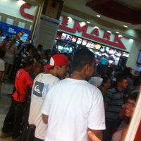 Photo taken at Cinemark by Marcelo E. on 2/19/2012