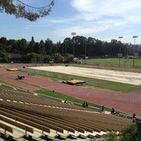 Photo taken at UCLA Drake Track & Field Stadium by jon p. on 7/10/2012