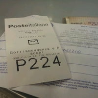 Photo taken at Poste Italiane by Fabrizio C. on 11/23/2011