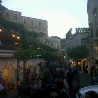 Photo taken at Piazza del Mulini by Filgallo on 6/3/2012