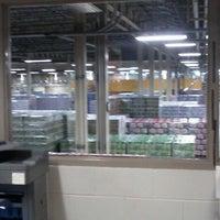Photo taken at Budweiser Distribution Warehouse by Joe M. on 5/23/2012