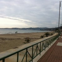 Photo taken at Lungomare Formia by Angelo R. on 12/31/2010
