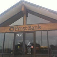 Photo taken at Frost Bank by Peggy G. on 12/24/2011