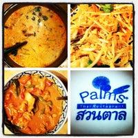 รูปภาพถ่ายที่ Palms Thai Restaurant โดย Albert E. เมื่อ 11/4/2011