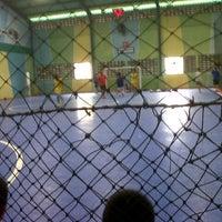 Photo taken at Lapangan Futsal BSC (Ringroad) by Juan Liemantoro S. on 8/3/2012