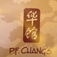 Photo taken at P.F. Chang's Asian Restaurant by Camila R. on 1/29/2012