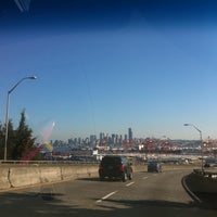 Photo taken at West Seattle / Jeanette Williams Memorial Bridge by DJChela L. on 9/10/2011