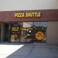 Photo taken at Pizza Shuttle by Eric C. on 6/26/2011