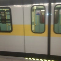 Photo taken at Metro Porta Romana (M3) by Negus R. on 7/5/2011