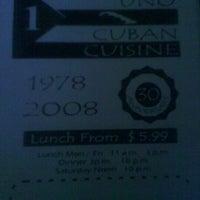 Foto tomada en Uno Pizzeria & Grill - Orlando por Jeanelle S. el 1/5/2012