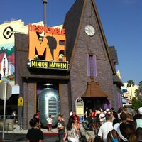 Photo taken at Despicable Me: Minion Mayhem by TJ H. on 7/20/2012