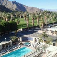 Photo taken at Hyatt Palm Springs by Jackie S. on 1/6/2012