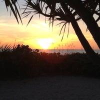 Photo taken at Longboat Key Beach by Kara C. on 12/18/2011