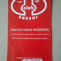 Photo taken at Dialog Haus Wedding by Olga H. on 6/14/2012