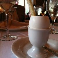 Photo taken at Restaurant August by Trey J. on 4/8/2012
