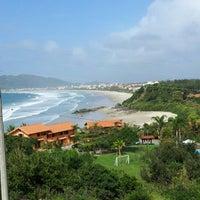 Photo taken at Praia do Mariscal by Tiago A. on 8/18/2012