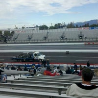 Photo taken at AAA Auto Club Raceway by Tamara S. on 11/11/2011