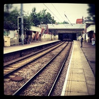 Photo taken at Hampstead Heath London Overground Station by Tomasz G. on 7/27/2012