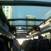 Photo taken at Megabus Bus Stop by TheFatAppleNYC.com on 1/24/2012