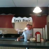Photo taken at Guy's Diner by Miss Kim's Coffee 2 Go on 11/7/2011