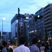 Photo taken at 大門交差点 by yuka r. on 6/30/2012