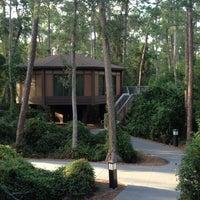 Photo taken at Treehouse Villas at Saratoga Springs Resort by Amanda M. on 9/1/2012
