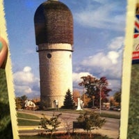 Photo taken at Ypsilanti Water Tower by Biinks on 10/22/2011