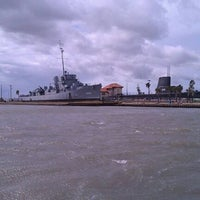Photo taken at Seawolf Park by Brian H. on 9/3/2011
