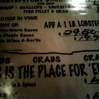 Photo taken at Waterfront Crab House by Julia S. on 9/24/2011