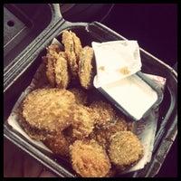 Photo taken at Zaxby's Chicken Fingers & Buffalo Wings by Earl B. on 1/28/2012