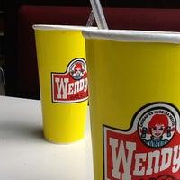 Photo taken at Wendy's by Karina Q. on 4/22/2012