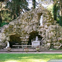 Photo taken at Grotto of Our Lady of Lourdes by Sisters of Providence on 8/5/2011