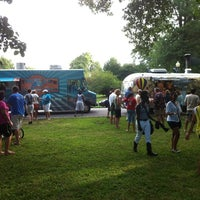 Photo taken at Food Truck Friday @ Tower Grove Park by Shakespeare Festival St. Louis on 7/22/2011