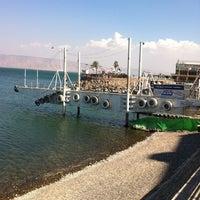 Photo taken at Sea of Galilee - Kinneret (כנרת) by Gonzalo F. on 8/6/2011