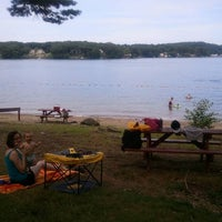 Photo taken at Sutton Town Beach - Marion's Camp by Kevin C. on 7/23/2011