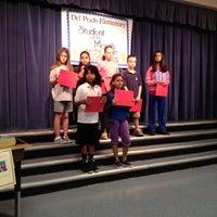Photo taken at Del Prado Elementary School by Tammy S. on 5/10/2012