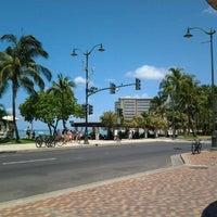 Photo taken at Waikiki Community Center by Peyoong V. on 8/2/2012