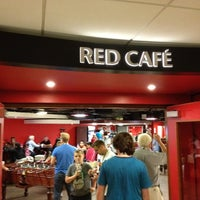 Photo taken at Manchester United Red Café by Baris H. on 8/24/2012