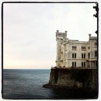 Photo taken at Castello di Miramare by Angela S. on 11/1/2011