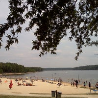 Photo taken at Seaforth Beach by Pittsboro-Siler City Convention & Visitors Bureau on 7/4/2011