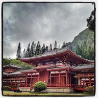 Photo taken at Byodo-In Temple by Yasuhiro I. on 6/16/2012