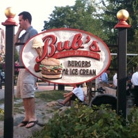 Photo taken at Bub's Burgers & Ice Cream by Lizzie E. on 7/28/2011
