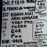 Photo taken at tamutamucafe by tamutamucafe on 9/18/2011