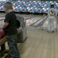 Photo taken at Alley Katz Bowling Center by Maria F. on 1/16/2012
