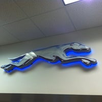 Photo taken at Greyhound Bus Lines by Chris M. on 7/19/2012