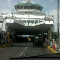 Photo taken at Edmonds Ferry Terminal by Brett A. on 7/13/2012
