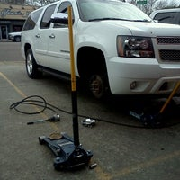Photo taken at Gerald's Tires And Brakes by Johnathan R. on 2/21/2012